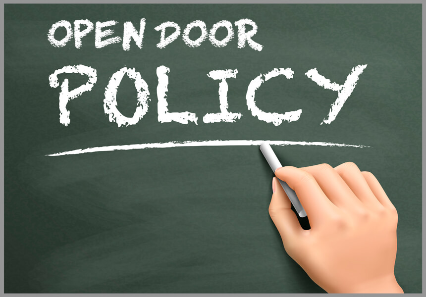 Should Your Business Have an Open Door Policy?