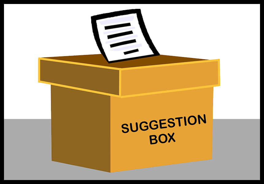 Should your Office Have a Suggestion Box?